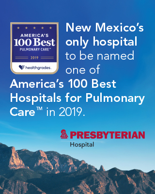 One of Healthgrades America's 100 Best Hospitals for Pulmonary Care™ for 3 Years in a Row (2017-2019)