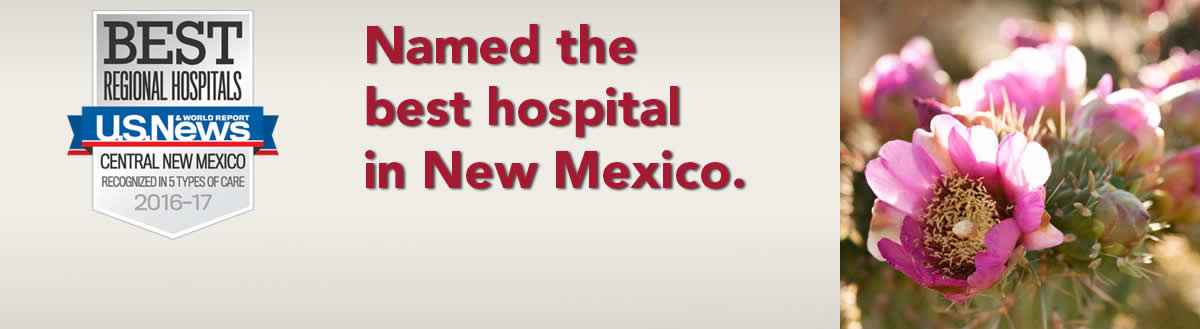 Presbyterian named best hospital in New Mexico