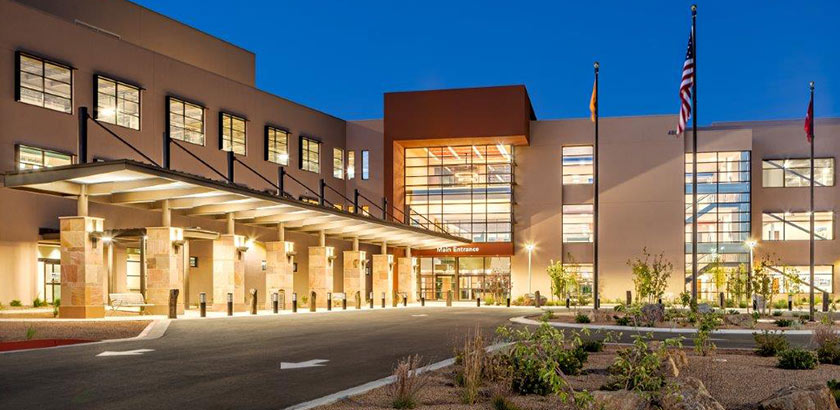 Santa Fe Medical Center is now accepting patients.