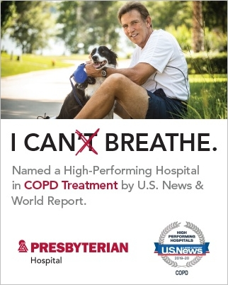 Named a High-Performing Hospital in COPD Treatment by U.S. News & World Report