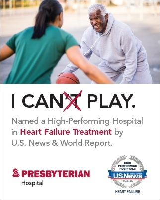 Named a High-Performing Hospital in Heart Failure Treatment by U.S. News & World Report