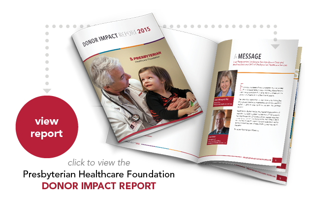 View 2015 Donor Impact Report