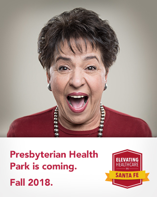 Presbyterian Health Park is Coming. Fall 2018.