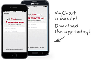 MyChart is mobile! Download the app today!